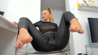 Foot fetish cam girls compilation